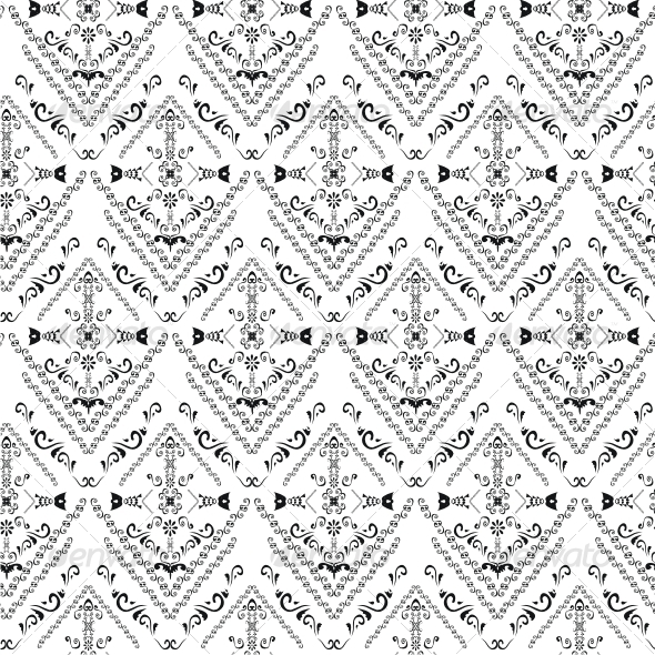 Seamless classicism pattern - Patterns Decorative