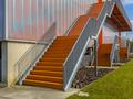 Orange emergency exit stairs - PhotoDune Item for Sale