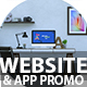 Website and App Promo - VideoHive Item for Sale