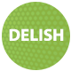 DELISH - Restaurant and Cafe HTML Template