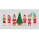 Santa Claus Costumes - GraphicRiver Item for Sale