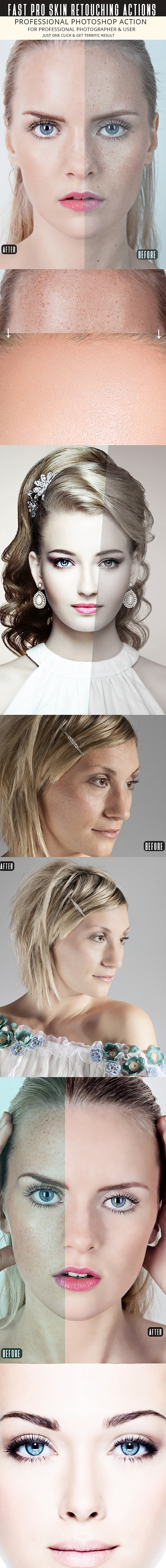 Fast Skin Retouching Actions - Actions Photoshop