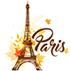 Autumn Paris Background - GraphicRiver Item for Sale