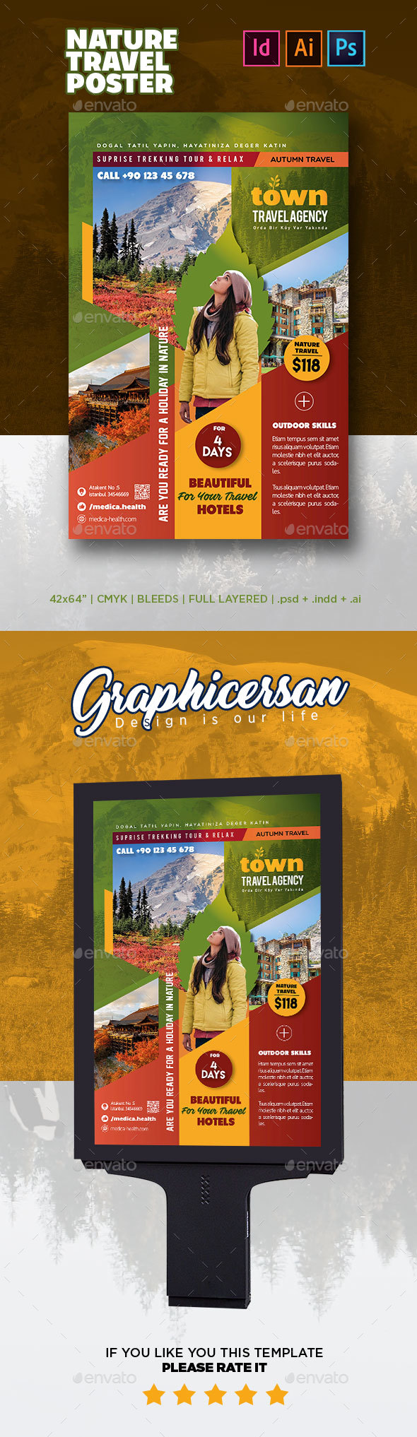 GraphicRiver Nature Travel Poster 20789256