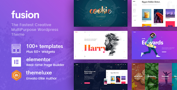 Fusion - Creative Multi-Purpose WordPress Theme - Creative WordPress