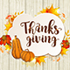 Greeting Card for Thanksgiving Day - GraphicRiver Item for Sale