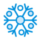 80 Snowflake Cute Style icons