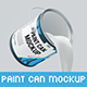 Paint Can Mockup - GraphicRiver Item for Sale