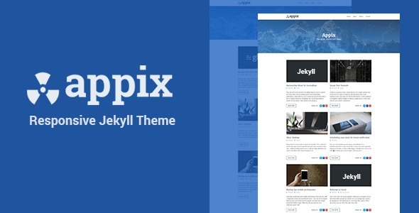 Download Appix - Minimal Responsive Jekyll Template            nulled nulled version