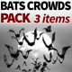 Bats Crowds Pack - VideoHive Item for Sale