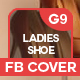 Ladies Shoe Facebook Cover - GraphicRiver Item for Sale