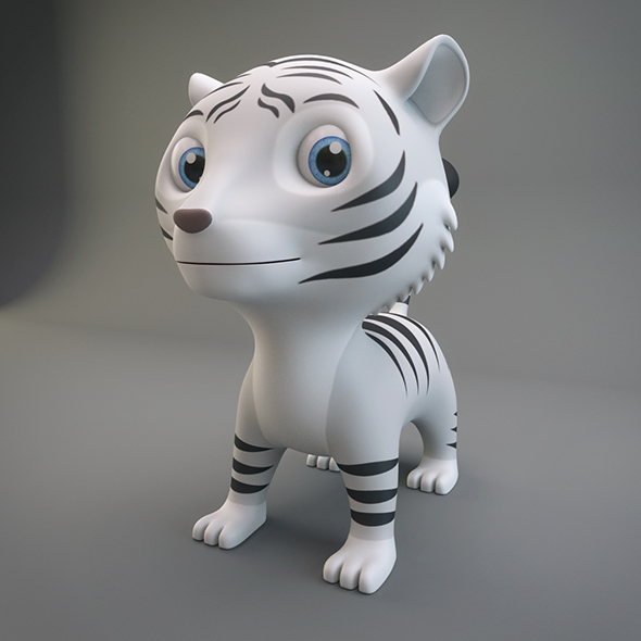 3DOcean White Tiger 20790437