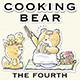 Cooking Bear Hand-drawn illustrations
