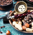 Hookah with nut tobacco taste