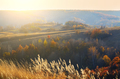 Autimn countryside beautiful view in Ukraine sunset time - PhotoDune Item for Sale