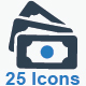 Money Icons - Blue Version