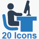 Office Icons - Blue Version