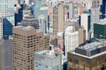 New York City Manhattan aerial view with skyscrapers, sunny day  - PhotoDune Item for Sale