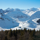 Alps mountains with snow in winter, blue sky in a sunny day - PhotoDune Item for Sale