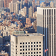 New York City Manhattan skyscrapers aerial view and USA flag - PhotoDune Item for Sale