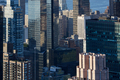 New York City Manhattan skyscrapers aerial view in the warm sunlight - PhotoDune Item for Sale