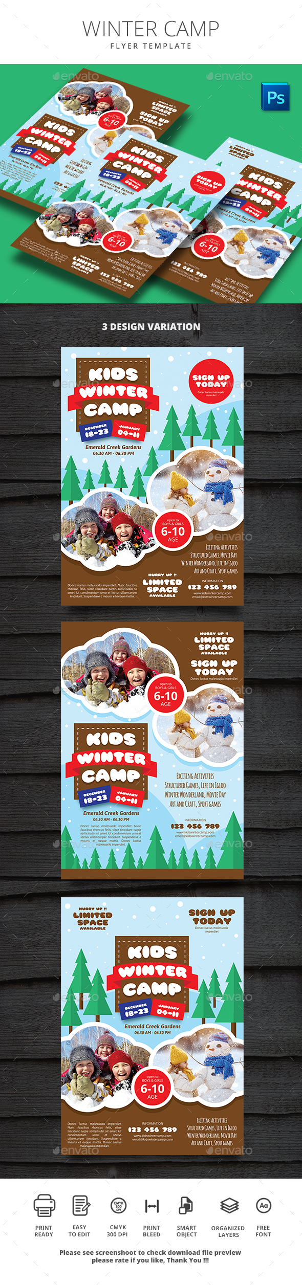 Winter Camp - Sports Events