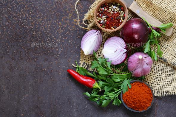 Food Background - Stock Photo - Images