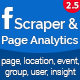 Facebook Business Scraper & Page Analytics