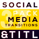 Social Media Transitions & Titles - VideoHive Item for Sale
