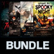 Halloween Flyers Bundle v3 - GraphicRiver Item for Sale