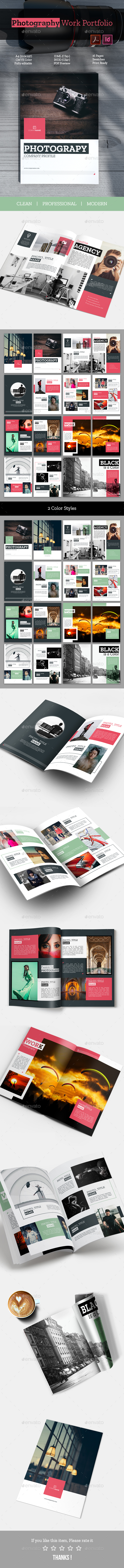 GraphicRiver Photography Work Portfolio 20792249