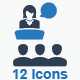 Presentation Icons - Blue Version