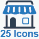 Shopping Icons - Blue Version