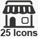 Shopping Icons - Gray Version