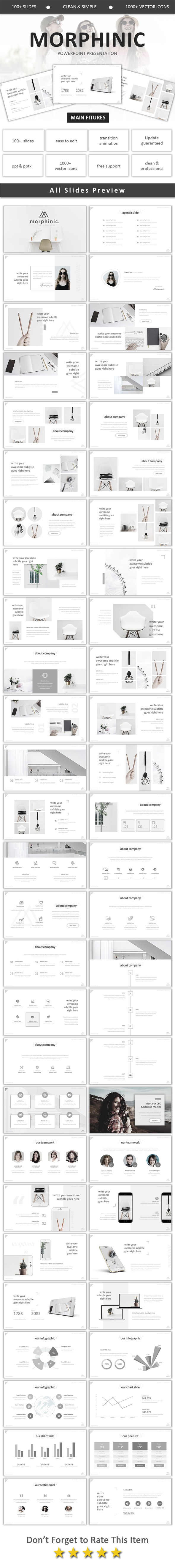 GraphicRiver Morphinic Modern Powerpoint 20792395