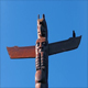 Bird Totem Pole With Crow Perched On It - VideoHive Item for Sale