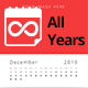 Infinite Calendar - Calendar Generator For All Years - GraphicRiver Item for Sale