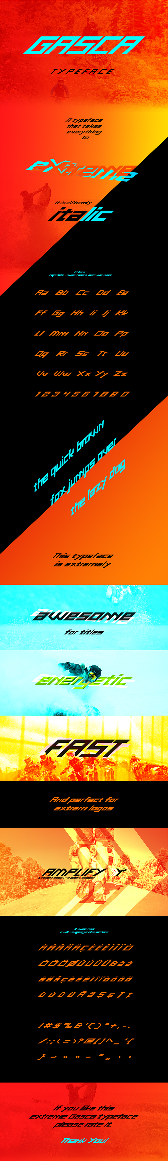 GraphicRiver Gasca Typeface 20792540