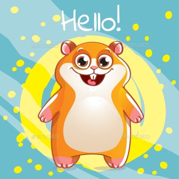 Cartoon Hamster - Animals Characters