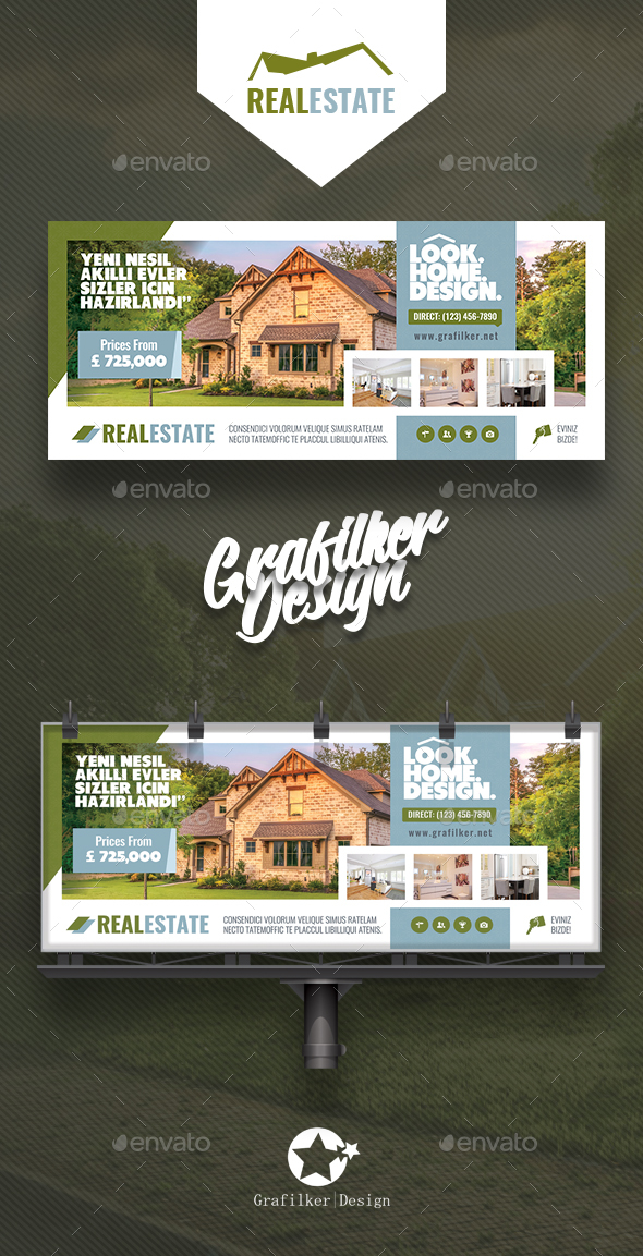 GraphicRiver Real Estate Billboard Templates 20792611