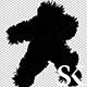 Dark Shadow Hairy Dancer