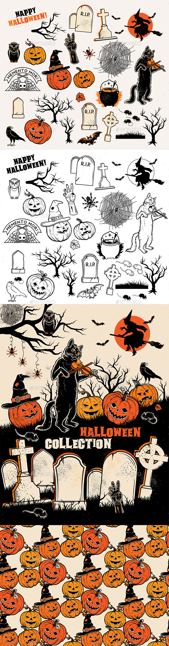 Halloween Collection - Halloween Seasons/Holidays