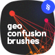 Geometrical Confusion Brushes - GraphicRiver Item for Sale