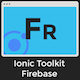 Ionic 3 Toolkit Firebase Personal Edition - Full Application with Firebase Backend