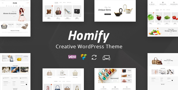 ThemeForest Homify Multipurpose WooCommerce Theme 20760849