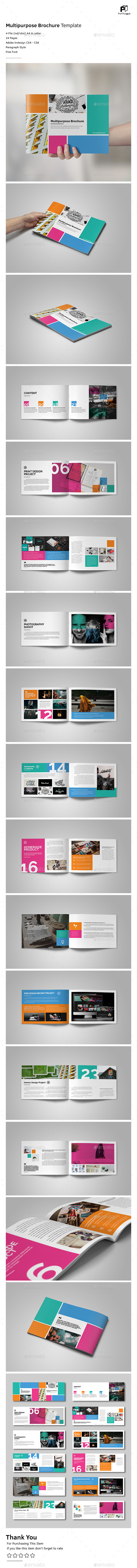 Colorful Brochure Vol.2 - Portfolio Brochures