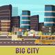 Big City Orthogonal Background