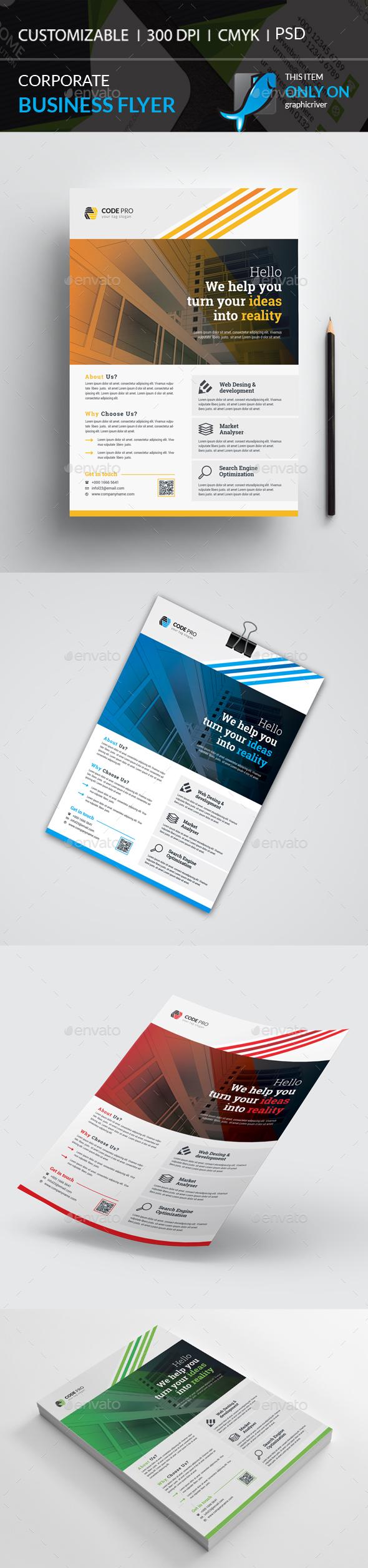 GraphicRiver Corporate Flyer 20793870