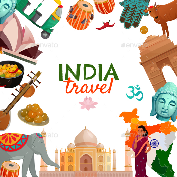 GraphicRiver India Travel Frame 20794012