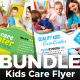 Kids Care Flyer Bundle